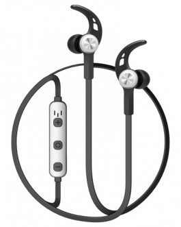Baseus B11 Licolor Magnet Wireless Earphone Silvery Black